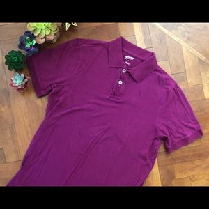 Other - Mens purple polo shirt size M